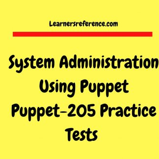Puppet Interview Questions - Learnersreference com