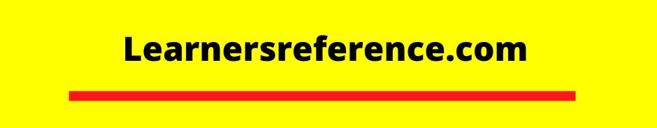 Learnersreference.com